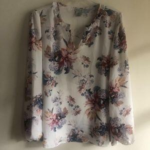 Paraphrase floral blouse
